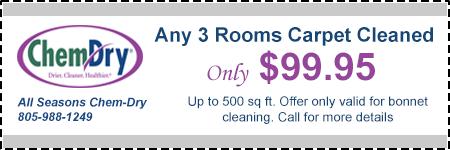 3 Room Carpet Cleaning All Seasons Chem Dry